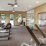 With health in mind The Vistas of Port Jefferson features a state-of-the-art fitness center in addition to multiple walking and biking trails., as well as a full service Yoga studio.
